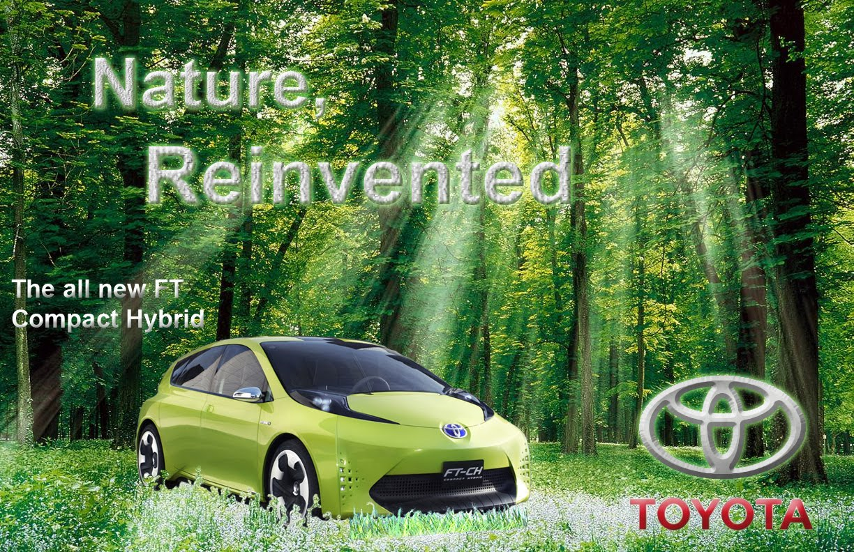 semiotic analysis on toyota car advertisement revised image